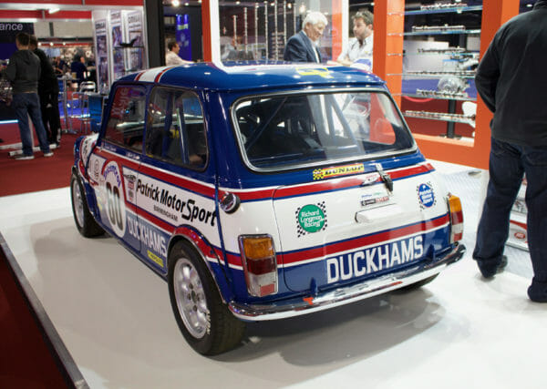 The Story Of The British Touring Car Championship Winning Mini 1275