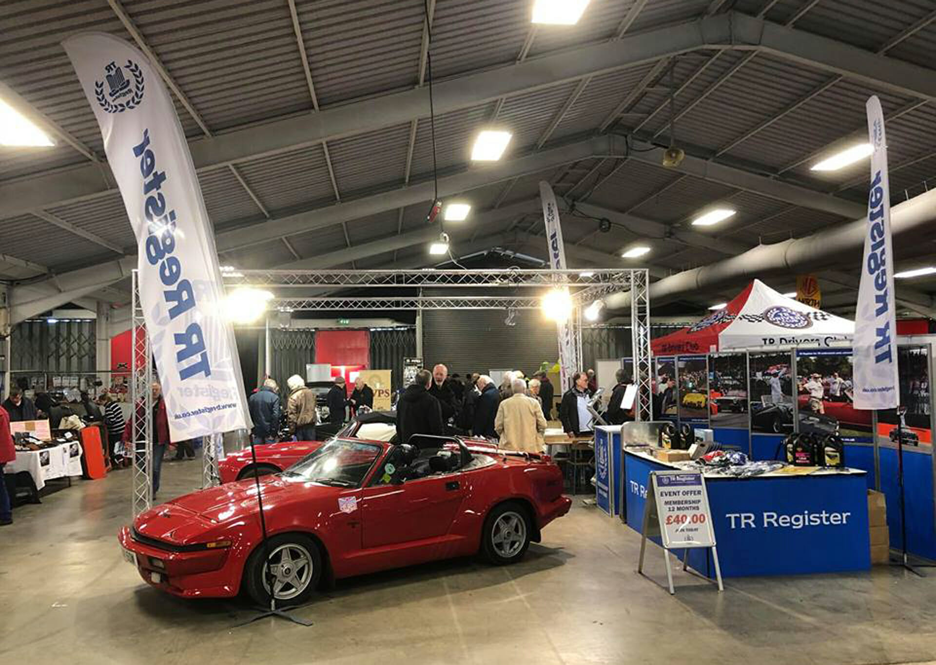 The International MG and Triumph Spares Day 2018