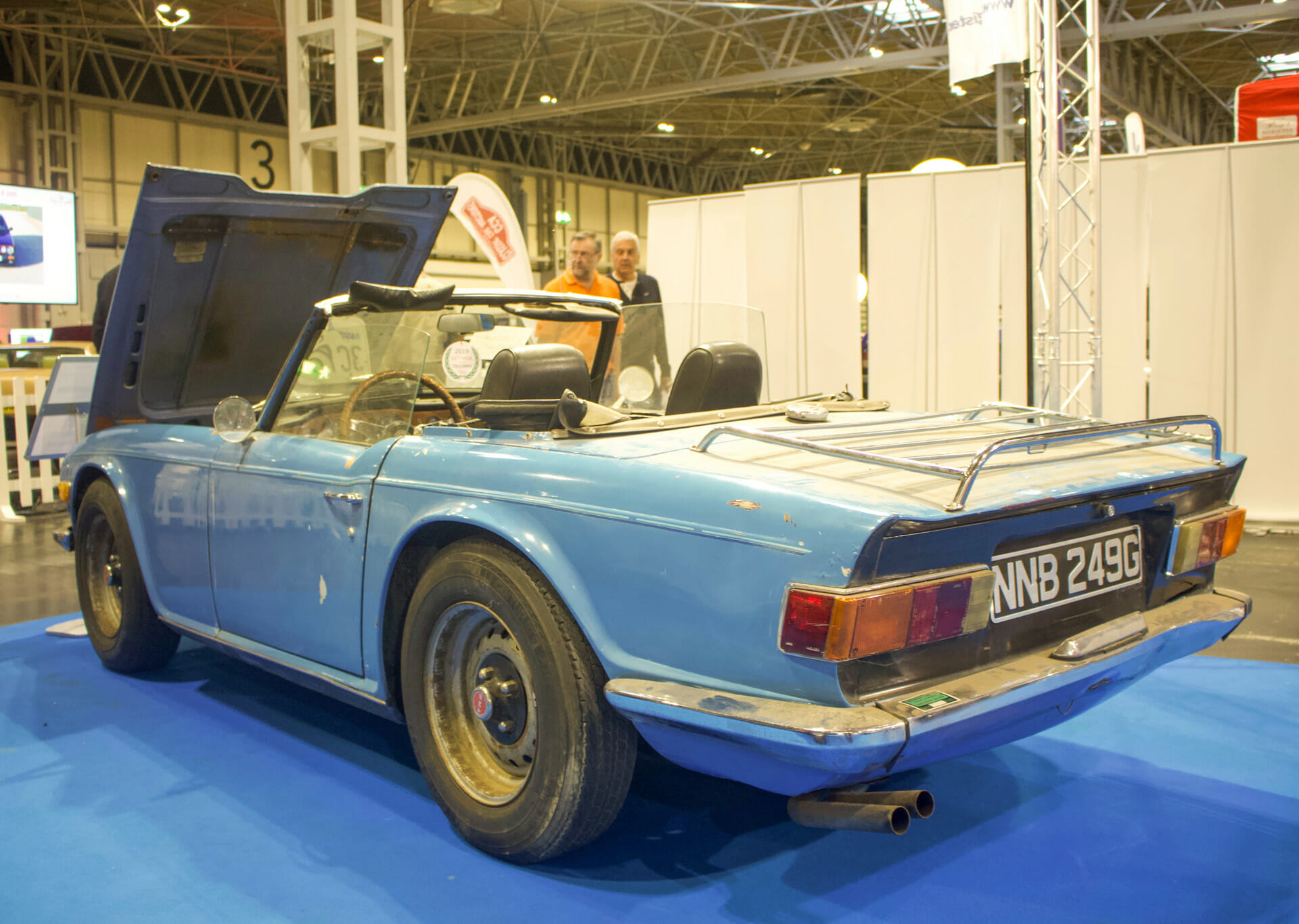 Duckhams Joined Cars Stars And Enthusiasts At The Nec Restoration