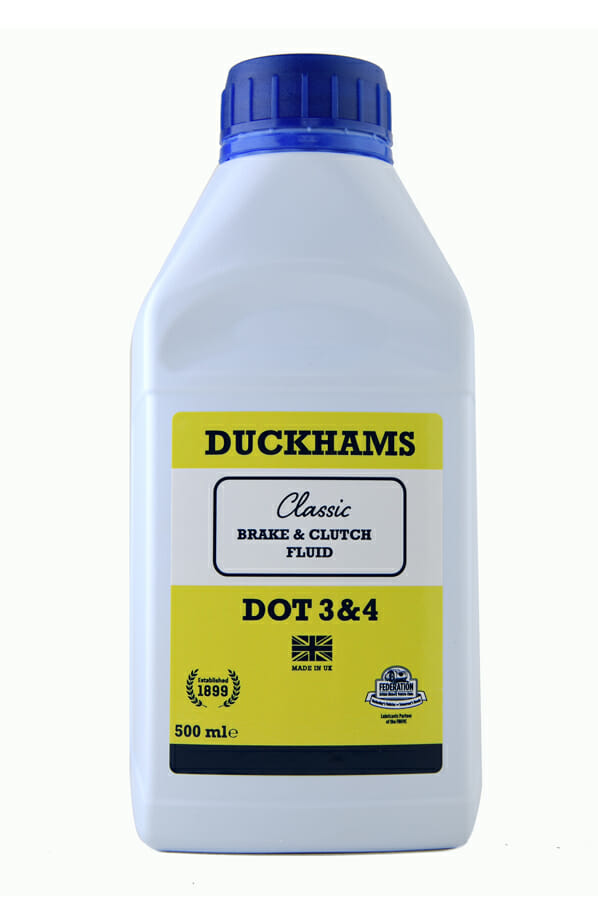 Duckhams Classic Brake Fluid DOT 3&4