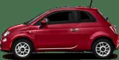 Fiat 500 Red car